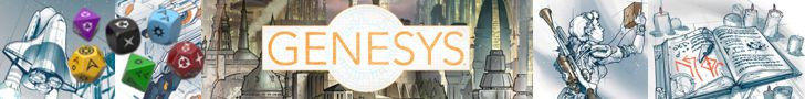 Purchase from DriveThruRPG: GENESYS Generic RPG Core Rules